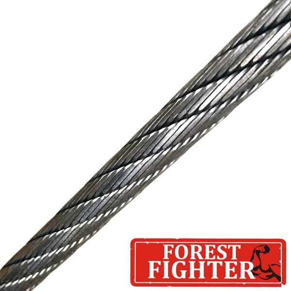 Ø14mm Traktionswindenseil Forest Fighter 626-V - hochverdichtet