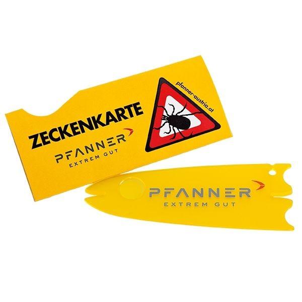 Pfanner Zeckenkarte