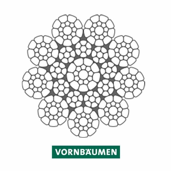 """Alpin-Traktionswindenseil """"VS 9-1 C"""" - powered by VORNBÄUMEN"""