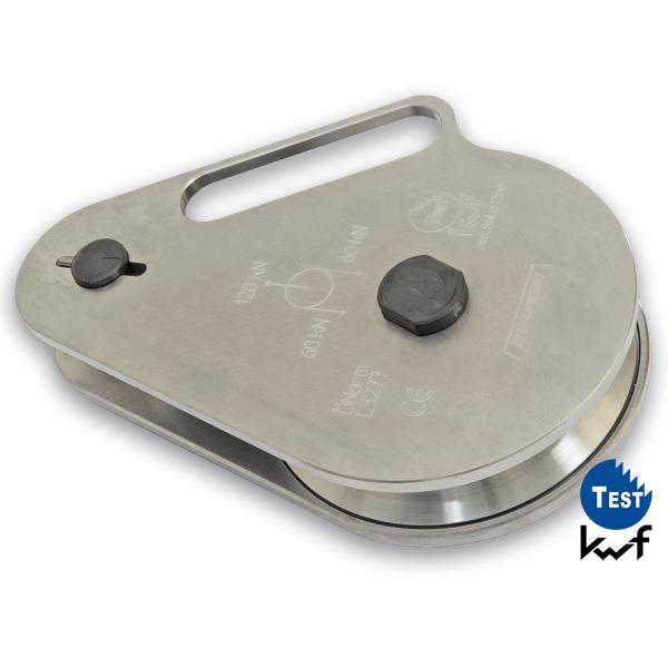 Aluminium Umlenkrolle AL 120 (6,0t)