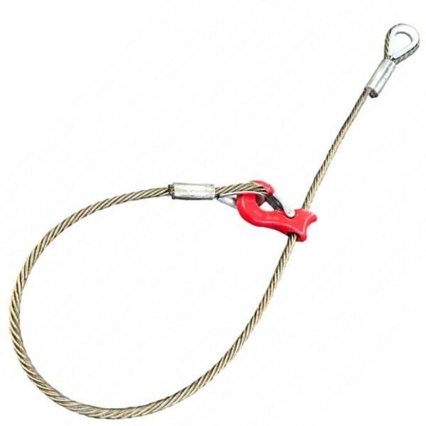 Chokerseil hochverdichtet mit Seilgleithaken - Typ KK