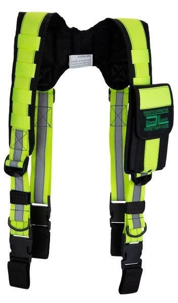 Forstkoppel Schulter-Tragesystem mit Smartphonetasche