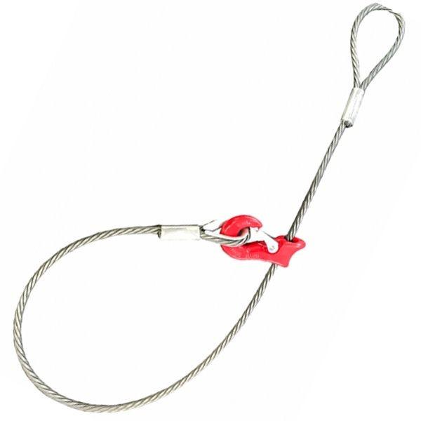 Chokerseil hochverdichtet mit Seilgleithaken - Typ HK