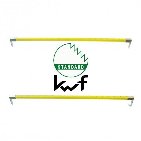 Nestle Holz - Anreißmeter mit 2 Spitzen - 100cm