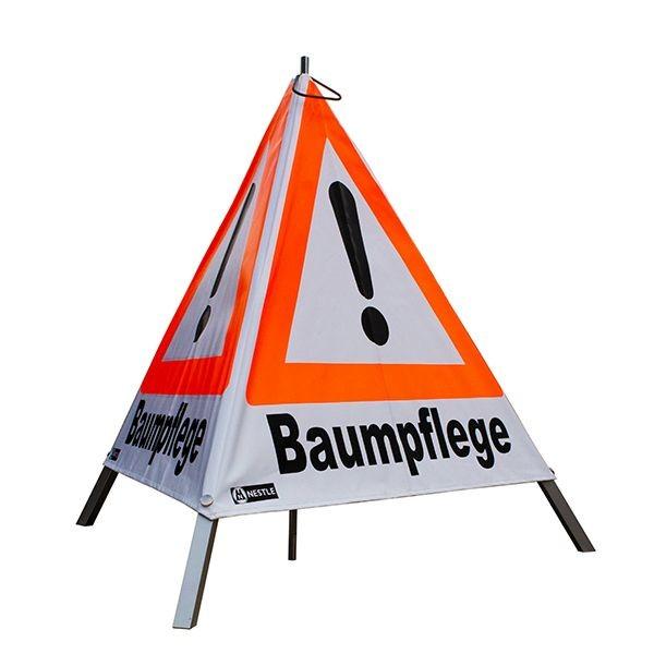 "Forst Warnpyramide / Faltsignal ""Baumpflege"""