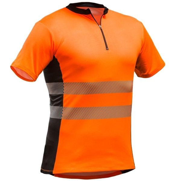 Pfanner Tencel-Poly Zip-Neck Shirt (EN 20471)