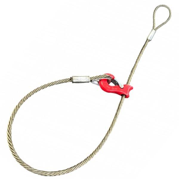 Chokerseil Standard mit Seilgleithaken - Typ SKS