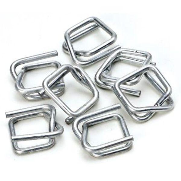 Verschlussklammern für Textil-Verpackungsband