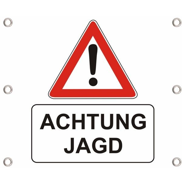 Forst-Absperrbanner V10 - Jagd